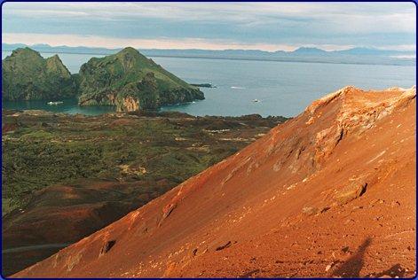 kort landingsbane vulkanøy